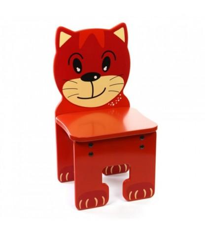 kinder stoel in de vorm van een kat