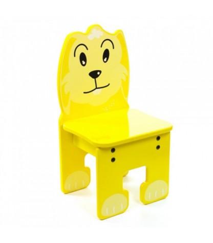 Kinderstoel met geel Konijn