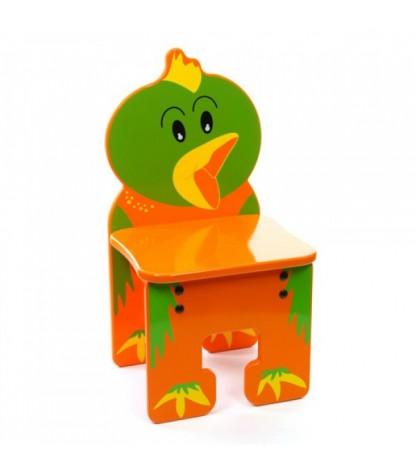 kinderstoel in de vorm van een vogel